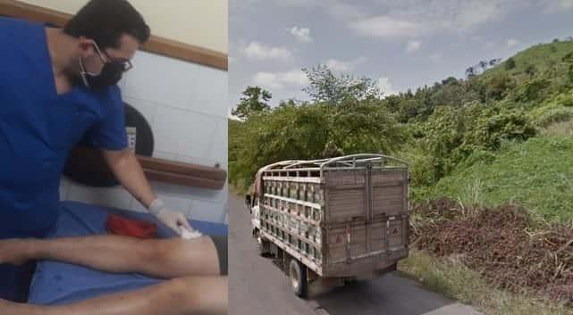 asalto en la vía Quiroga-Pichincha