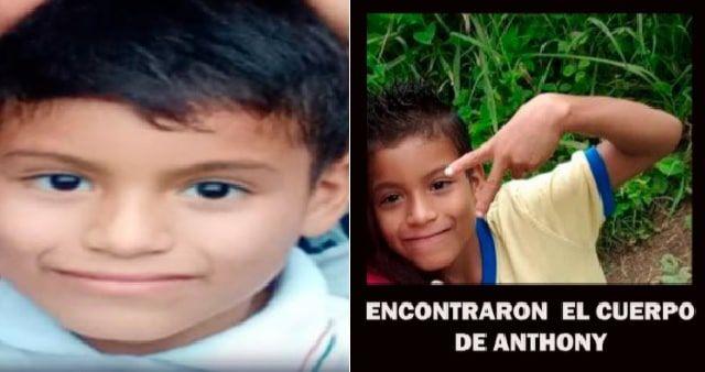 niño secuestrado en El Carmen
