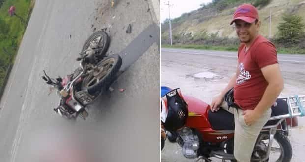 accidente en la vía Tosagua-Chone
