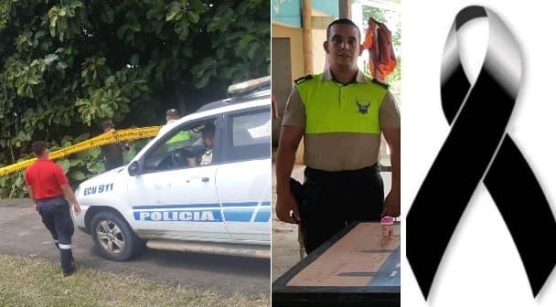 Persecución policial en Tosagua